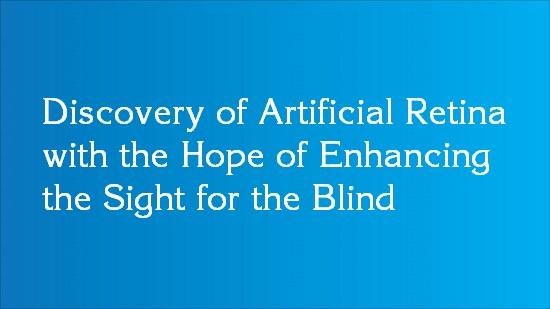 artificial retina discovery