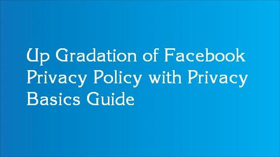 facebook policy update