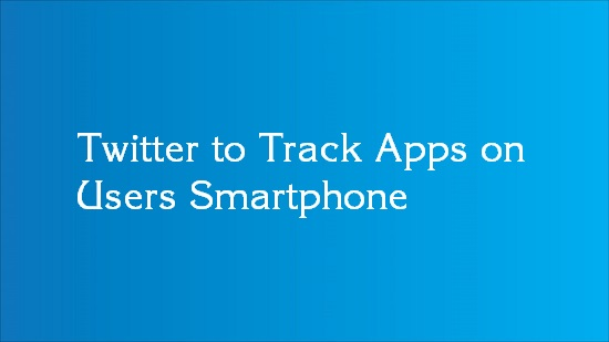 twitter track and trace