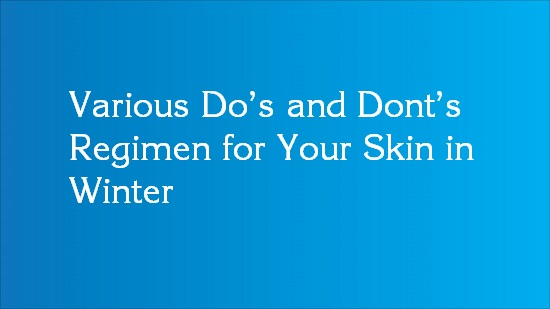 winter do's and don'ts