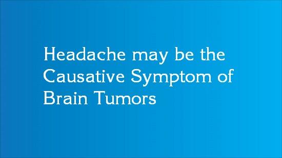 brain tumor headache