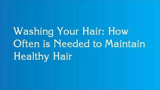tips maintain healthy hair