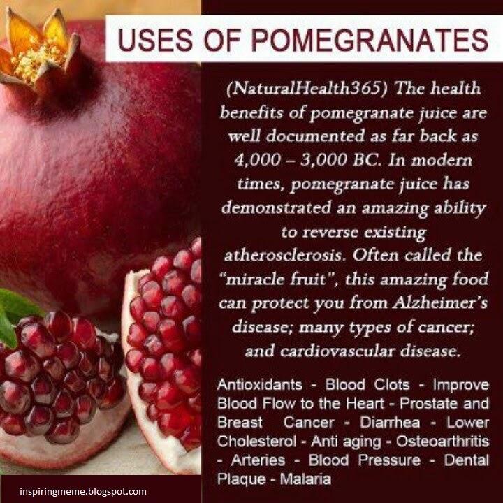 pomegranates-health-tips