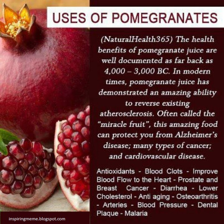 pomegranates-health-tips