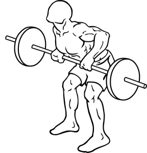 saturday-gym-workout-schedule-bent-over-barbell-row