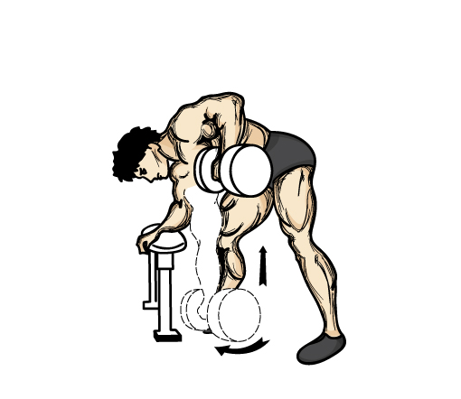 saturday-gym-workout-schedule-single-dumbbell-row