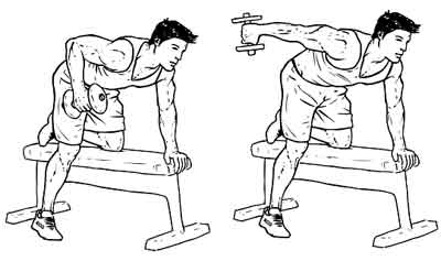 wednesday-gym-workout-schedule-dumbbell-kick-back