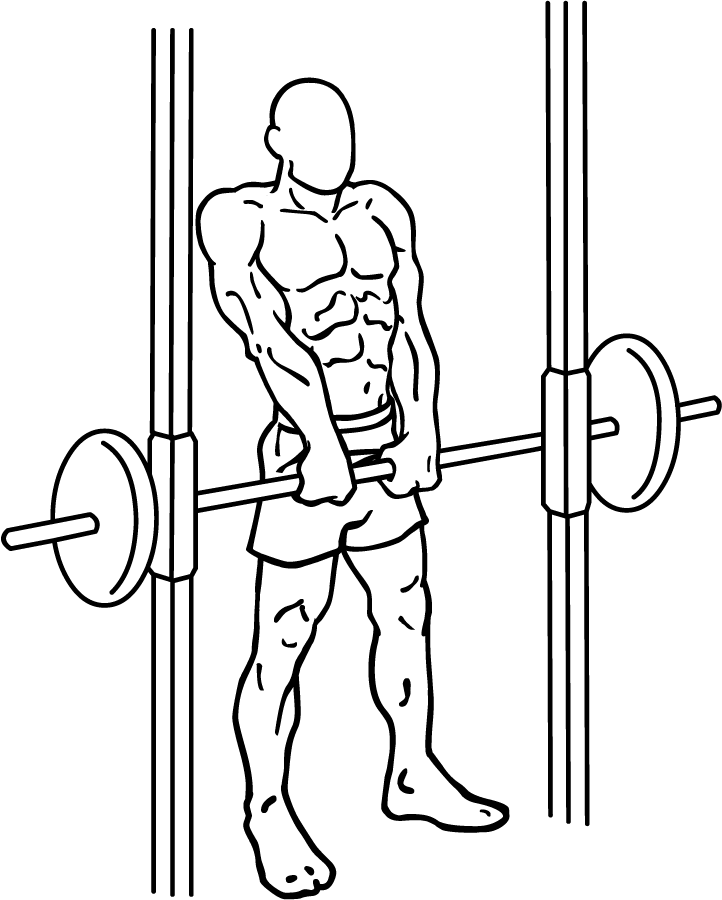 wednesday-gym-workout-schedule-smith-machine-shrugs