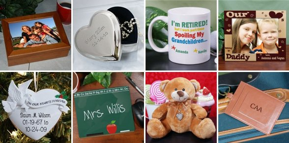 Add Personal Touch To Your Ideas With Personalized Gift Items ...