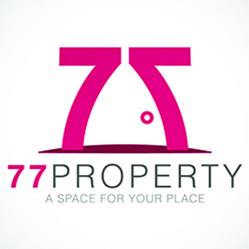 77property real estate logo designs ideas