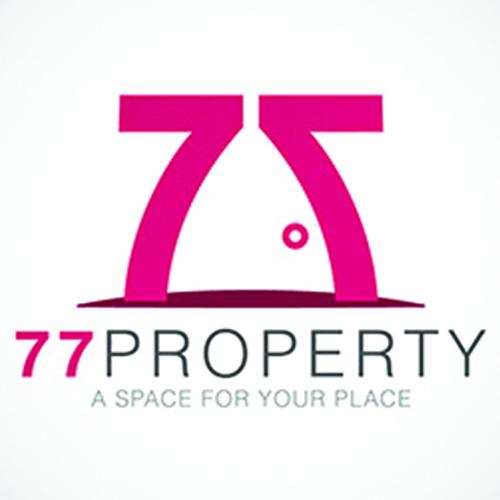 77property real estate logo designs ideas