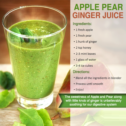 apple pear ginger smoothies benefits of healthy juices and recipes