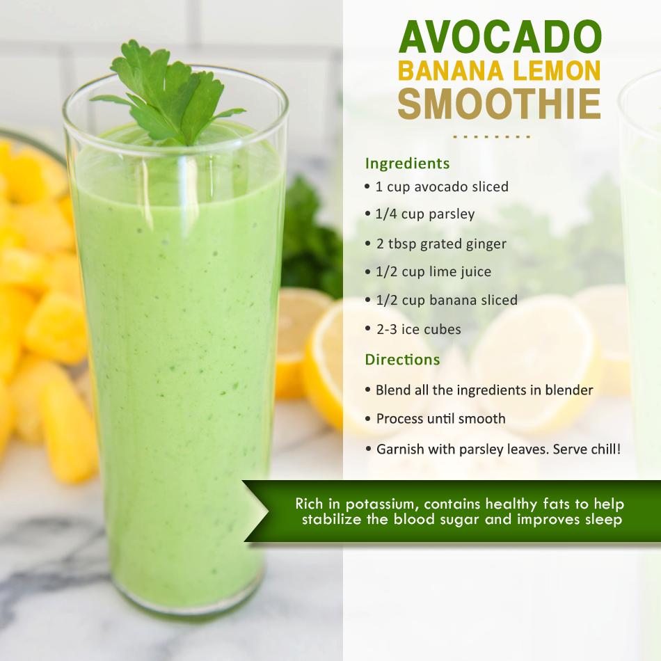 avocado banana lemon smoothies benefits of healthy juices and recipes