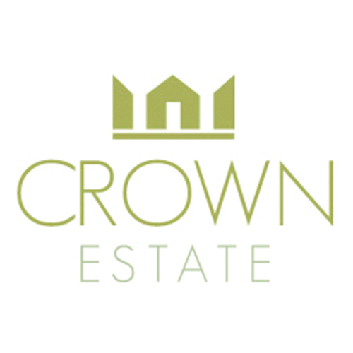 crown estate real estate logo designs ideas