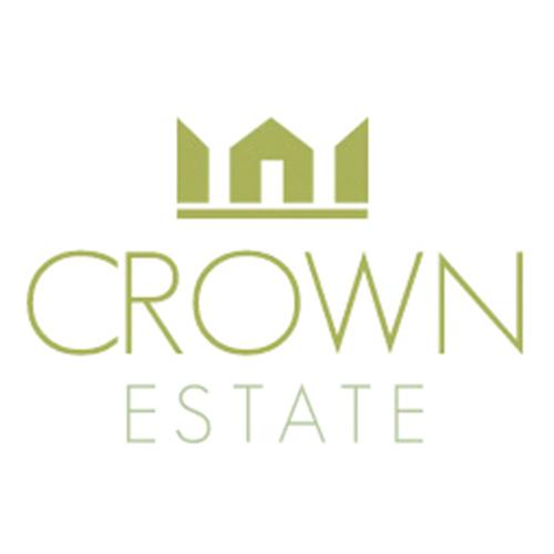 crown estate real estate logo designs ideas