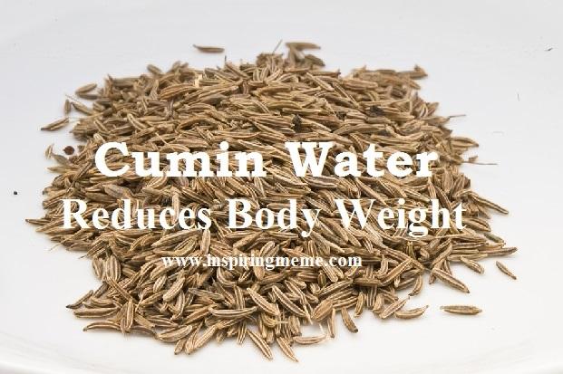 cumin water benefits