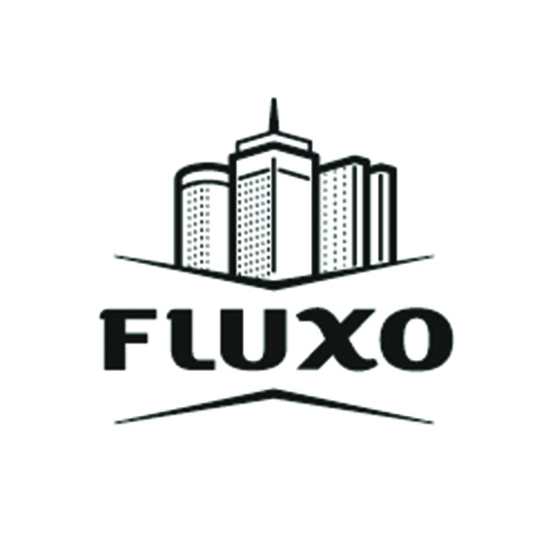 fluxo real estate logo designs ideas