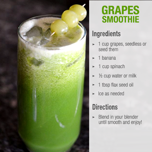 grapes smoothies benefits of healthy juices and recipes