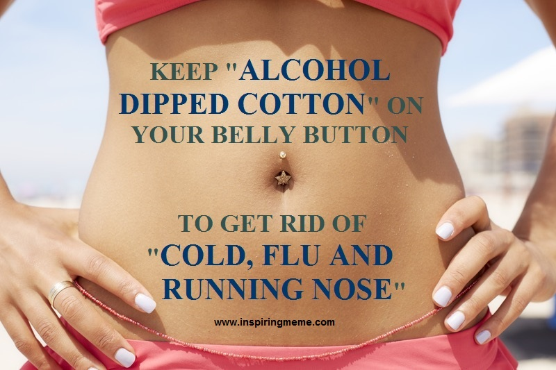 Benefits of Keeping Alcohol Dipped Cotton on Your Belly Button