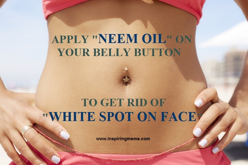 Benefits of Applying Neem Oil on Your Belly Button