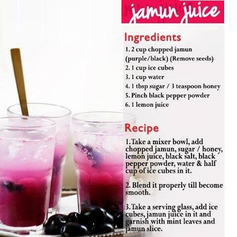 jamun smoothies benefits of healthy juices and recipes