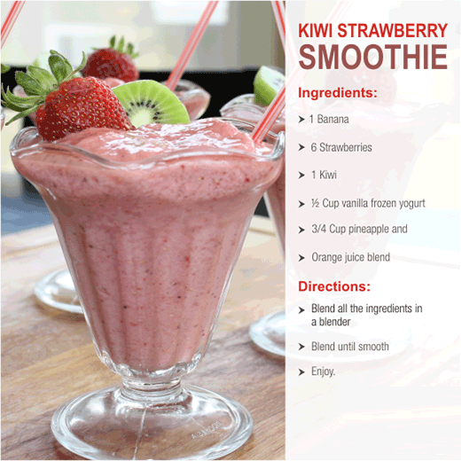 kiwi strawberry smoothies benefits of healthy juices and recipes