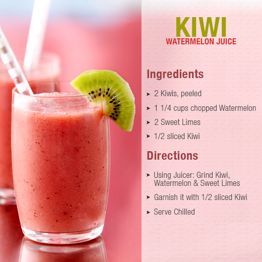 kiwi watermelon smoothies benefits of healthy juices and recipes
