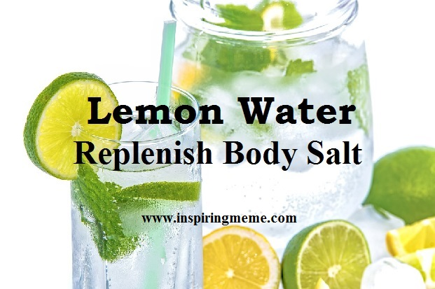 lemon water benefits