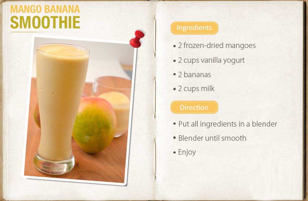 mango banana smoothies benefits of healthy juices and recipes