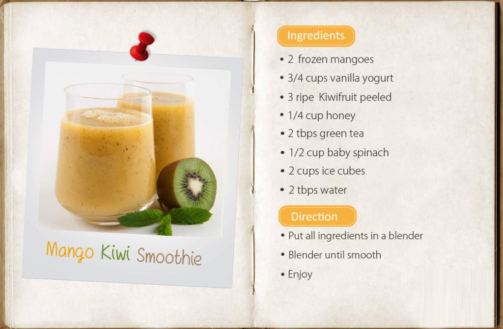 mango kiwi smoothies benefits of healthy juices and recipes