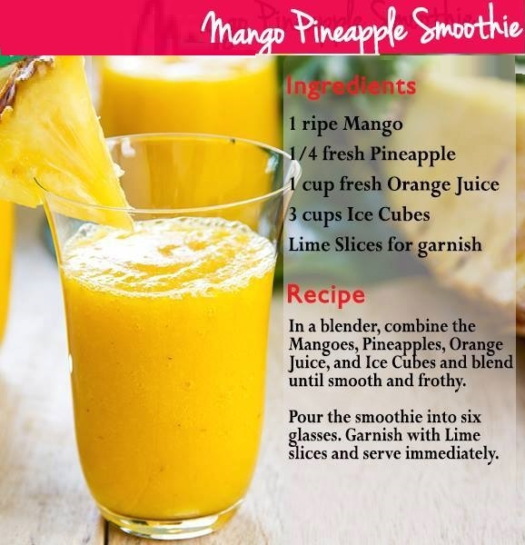 mango pineapple smoothies benefits of healthy juices and recipes