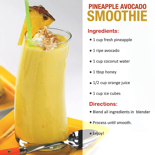pineapple avocado smoothies benefits of healthy juices and recipes