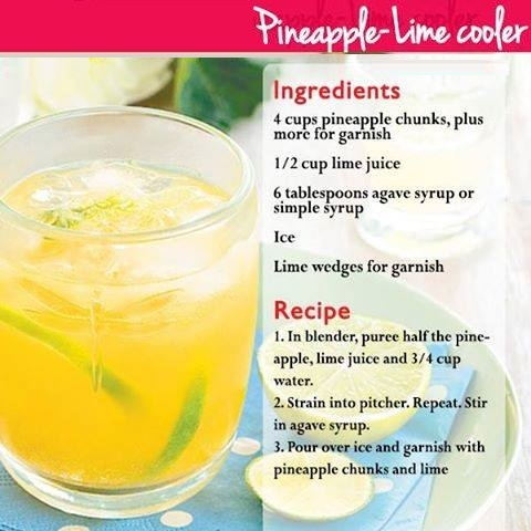 pineapple lime cooler smoothies benefits of healthy juices and recipes