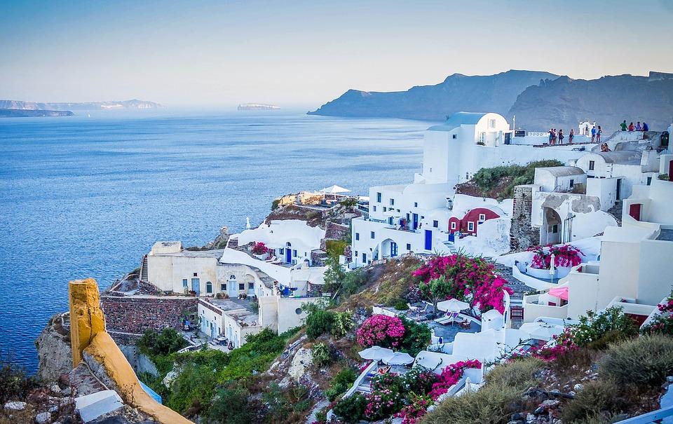 Romantic Honeymoon Destinations 9: Santorini Island, Greece