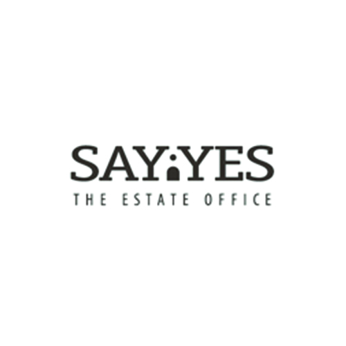 say yes the estate office real estate logo designs ideas