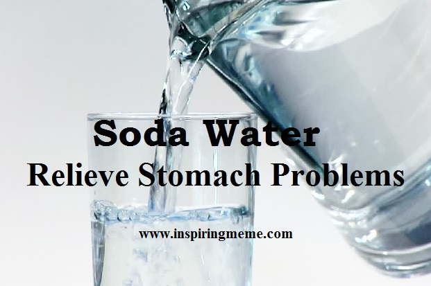 soda water benefits