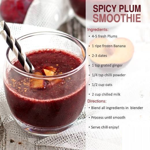spicy plum smoothies benefits of healthy juices and recipes