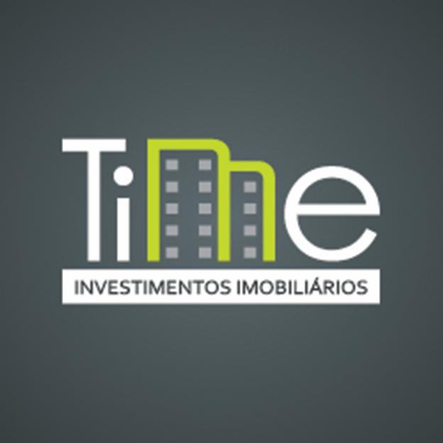 time investimentos imobiliarios real estate logo designs ideas