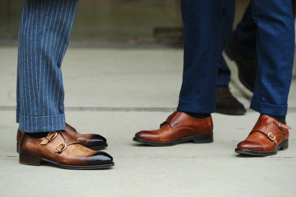 Monkstraps - Slay in the shades of conventional black and brown