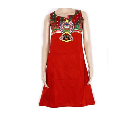 Kurtis with Embroidery Bengali Dressing Lifestyle
