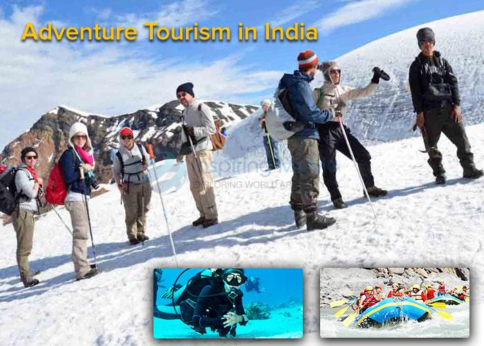 adventure tourism destination in India