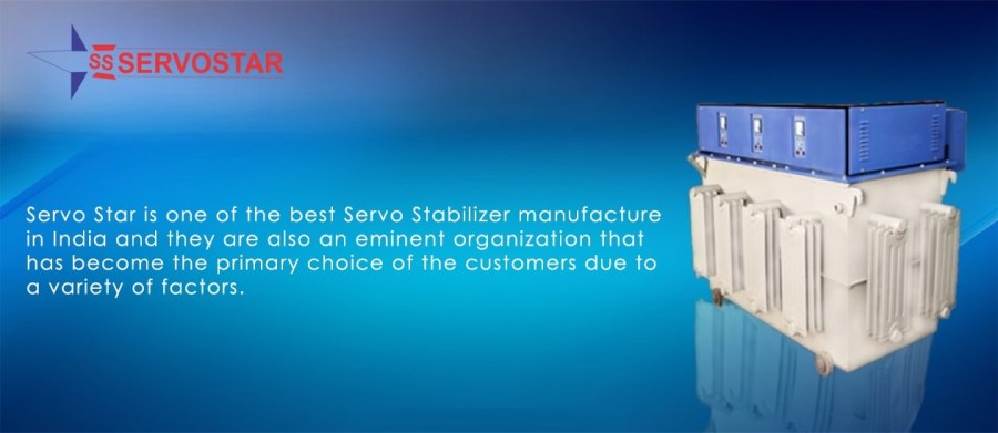 Top Servo Stabilizer Manufacturer in India