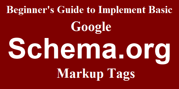 google structured data markup