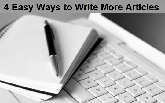 ways and tips to write good articles