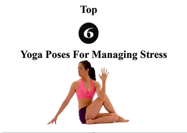 6 best yoga poses to relieve stress