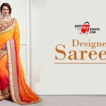 Increasing Rage of Floral Print Sarees among Young Women