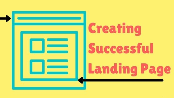 creating a successful landing page
