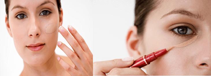 foundation and concealer makeup tips