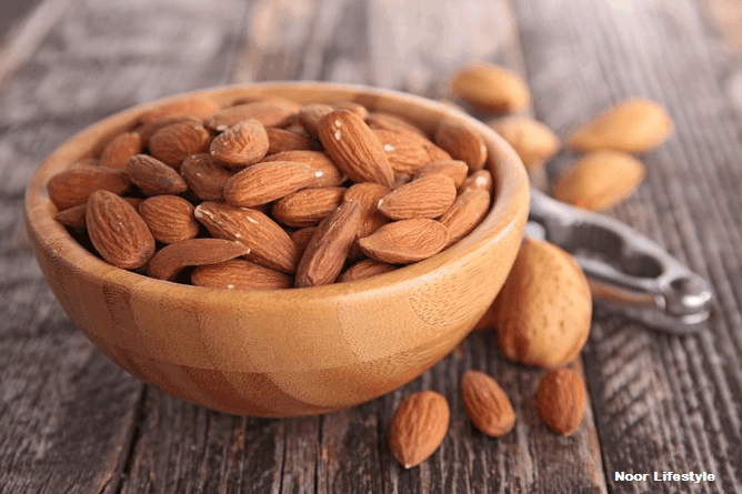 health benefits of Almonds for glowing skin