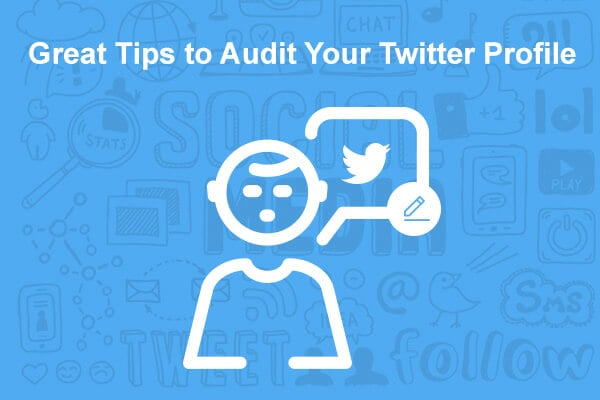 tips to audit twitter account